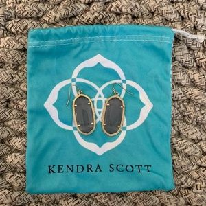 Kendra Scott Jewelry - Kendra Scott Elle Gold Drop Earrings- Slate